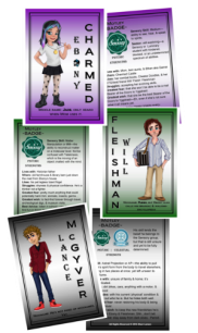 Printable Character Profile Cards