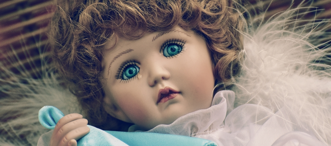 Canva - Brown Haired Female Doll