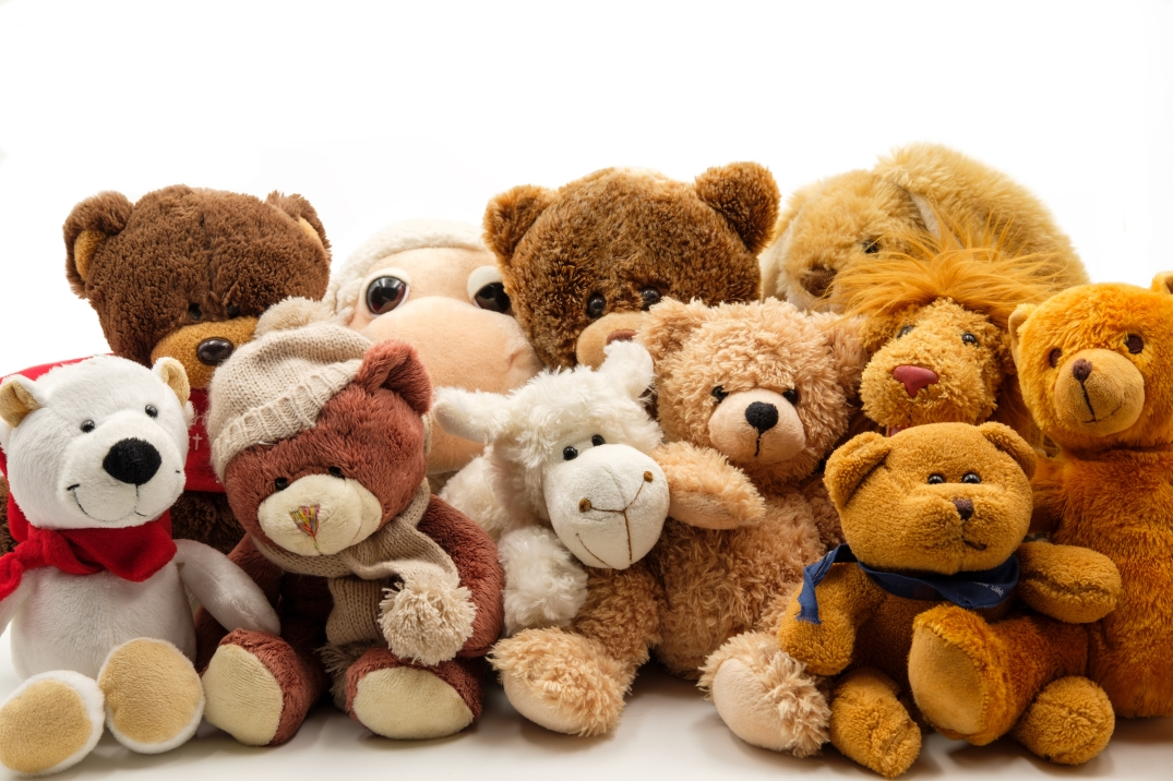 Canva - Fluffy Stuffed Animals