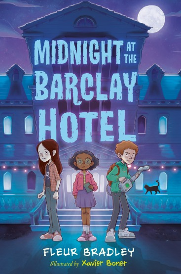 Midnight at the Barclay Hotel by Fleur Bradley